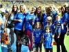 WAGs Italia đại náo mặt sân Olympic