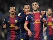 Chấm điểm Barca 5-0 Cordoba: Không cần siêu nhân Messi, đã có David Villa