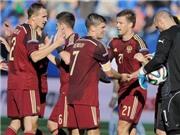 Bàn thắng muộn của Kerzhakov giúp Nga thắng Slovakia 1-0