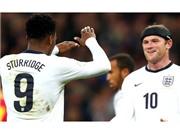 Hàng công tuyển Anh: Thử nghiệm cặp đôi Rooney – Sturridge