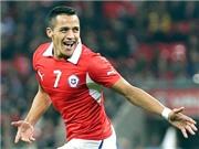 Alexis Sanchez: Tâm điểm mặt trận tấn công Chile