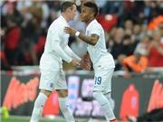 Sterling khoe giày độc trong trận thắng Peru của tuyển Anh