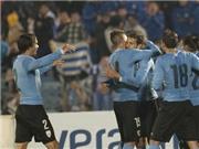 Không Suarez, Uruguay vẫn hạ Bắc Ireland