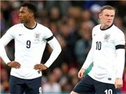 Đội tuyển Anh: Rooney và Sturridge không thể chơi cạnh nhau?