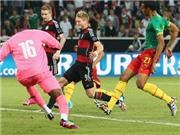 Đức 2-2 Cameroon: Eto'o và Thomas Mueller 'đọ súng'