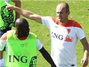 Robben lại ÍCH KỈ: Đòi tẩn đồng đội trẻ vì lỡ va chạm trên sân tập