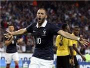 Benzema và Giroud cùng nổ súng, Pháp đè bẹp Jamaica 8-0