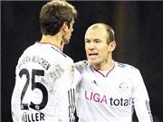 Những vụ va chạm vì thói ích kỷ của Robben