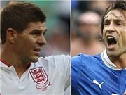 Andrea Pirlo & Steven Gerrard: Nghệ sĩ đối đầu đấu sĩ