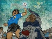 14 câu nói bất hủ nhất World Cup: 'Một chút từ cái đầu của Maradona, một chút từ bàn tay của Chúa'