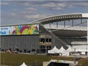 Brazil chạy đua với thời gian trước lễ khai mạc World Cup 2014