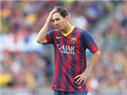 Một năm khó khăn của Messi