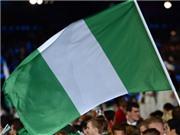 Nigeria bị nhầm quốc kỳ trong lễ khai mạc World Cup 2014