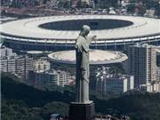 Sao Paulo trước giờ khai mạc.