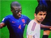 Ảnh chế: 'Collina' của Hà Lan trợn mắt dọa Costa