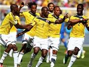 Colombia 3-0 Hy Lạp: Không Falcao, Colombia vẫn quá mạnh