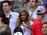 Hôn thê của Balotelli đến cổ vũ cho đội tuyển Italy