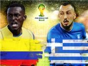 Thông tin thú vị trận Colombia - Hy Lạp: Colombia đi vào lịch sử World Cup