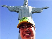 Nhật kí hành trình: Đến Tượng Chúa cứu thế ở Rio de Janeiro. 'Italy, tôi yêu em'