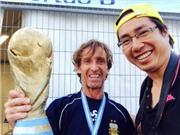 Góc ANH NGỌC: Tình yêu với Argentina trên những bánh xe