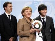 Thủ tướng Angela Merkel đến Brazil cổ vũ tuyển Đức