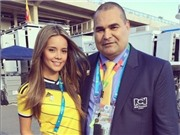 Vẻ đẹp của phóng viên Mexico hút hồn khán giả World Cup