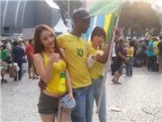 Trai Nhật, gái Hàn che mờ vũ điệu Samba