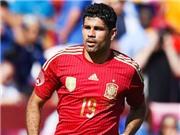 Vicente del Bosque đã hoàn toàn thất bại với Diego Costa