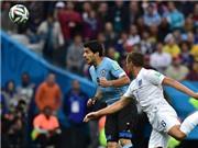 Chấm điểm Uruguay 2-1 Anh: Rooney hay, nhưng Suarez còn hay hơn