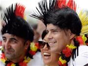 CĐV Đức hào phóng nhường vé xem World Cup cho người dân Brazil