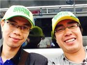 Nhật kí hành trình: Mừng ngày nhà báo trên đất Brazil