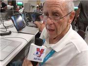 Nhật kí hành trình: Gặp nhà báo 76 tuổi, dự 11 kì World Cup liên tiếp