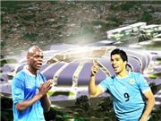 Italy - Uruguay: Ngày 'kẻ xấu' Balotelli chống 'gangster' Suarez