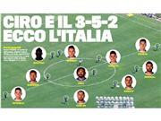 Góc chiến thuật: 3-5-2 và Bonucci sẽ là chìa khóa cho Italy?