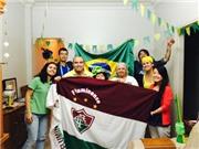 Nhật kí hành trình: Xem bóng đá cùng gia đình Brazil có cô dâu Việt