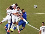 Bảng D: Godin giúp Uruguay tiễn Italy về nước. Anh rời Brazil bằng trận hòa nhạt trước Costa Rica