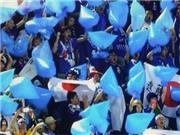 CĐV Nhật Bản dùng 'công cụ đặc biệt' cổ vũ đội tuyển