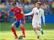 Thông tin thú vị xung quanh trận Anh - Costa Rica