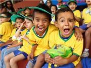 Cơn sốt bóng đá tại... rừng nhiệt đới Amazon