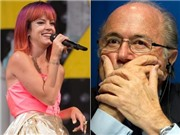 Lily Allen phỉ báng chủ tịch FIFA