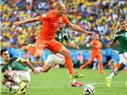 Ấn tượng World Cup: Tiền vệ Arjen Robben