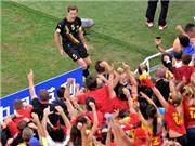 Đội tuyển Bỉ: Bóng đá hàn gắn một đất nước bị chẻ đôi