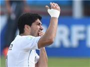 Luis Suarez CHÍNH THỨC xin lỗi vì chủ động cắn Chiellini