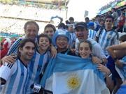 NHẬT KÍ hành trình: Vào sân Corinthians, hô vang 'Vamos Argentina'