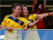 Tổng thống Colombia cho công chức nghỉ làm để xem đội nhà đá với Brazil