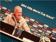 Didier Deschamps: 'Chúng tôi chả có gì phải sợ người Đức'