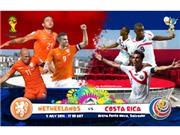 Hà Lan – Costa Rica: Tử thần màu Da Cam