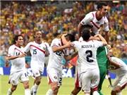 Áo đấu của Costa Rica bỗng dưng gây sốt