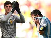Argentina đối đầu Bỉ: Ngày Courtois tái ngộ Messi