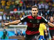 Miroslav Klose phá kỷ lục của Ronaldo: Nấc thang lên thiên đường